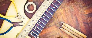 Precios de trabajos Luthier en Guitarras y bajos