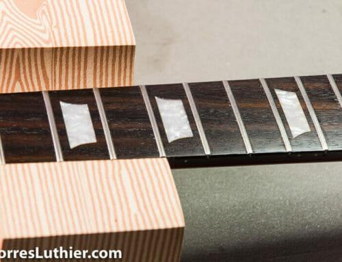 Cuidados diapason y tratamientos especiales en guitarra o bajo